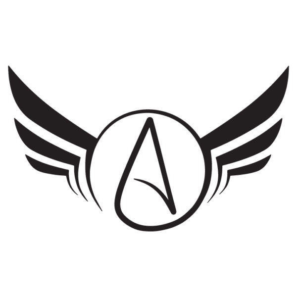 Atheist-Wings-Decal-in-Black