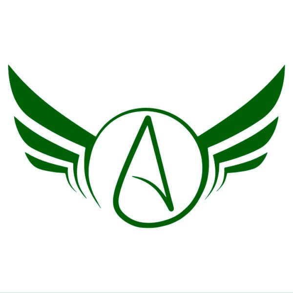 Atheist-Wings-Decal-in-green