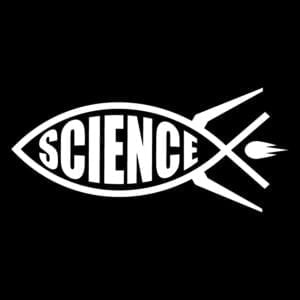 Science-rocket-fish-ichthys-in-white-facing-left