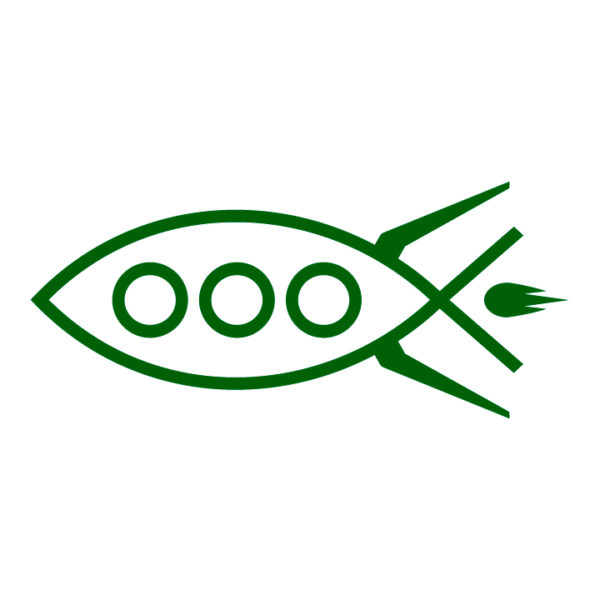 Rocket-fish-ichthys-in-green